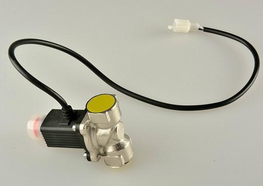 名安家用燃气泄漏报警器联动4分管道电磁阀 6