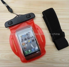 iphone waterproof case with cuff, iphone waterproof Bag Manufacture