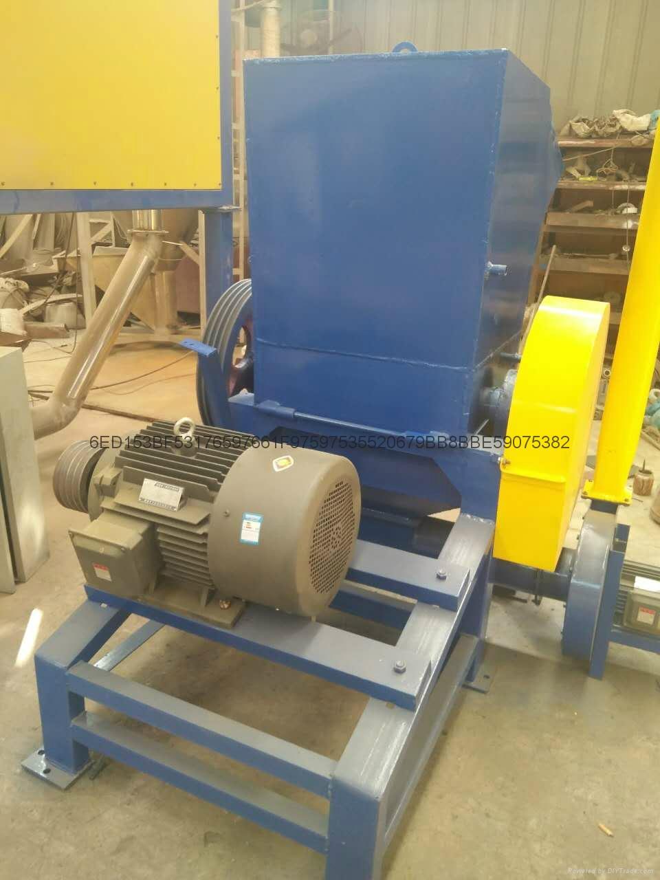 Plastic crusher maintenance 4