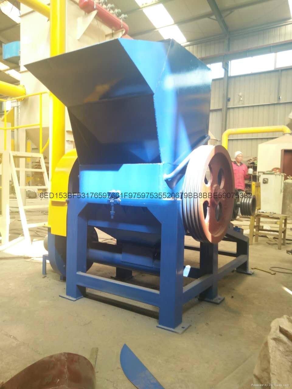 Plastic crusher maintenance 5