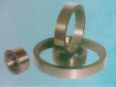 拉丝钢圈表面喷钨钢