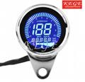 KEGE LCD LED Digital Speedometer with