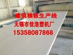 建筑模板生产线