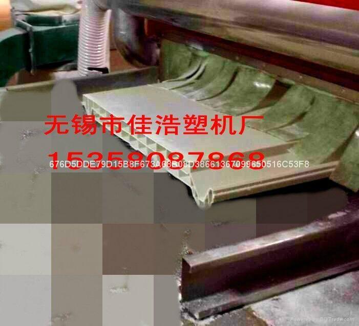 塑料活动板房中空T型瓦机械设备 2