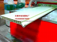 PVC中空墙板ASA共挤生产线