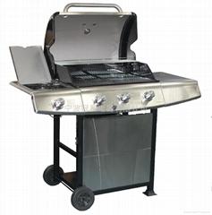 美国charbroil牌 G56004 三头户外燃气烧烤炉不锈钢