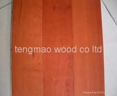 cherry multilayer engineered wood flooring