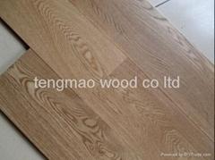 oak multilayer engineered wood flooring