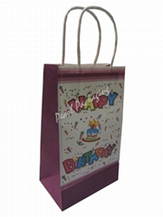 Birthday Theme Paper Gift Bag