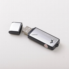 清華紫光錄音筆8G微型USB鋰電高清遠距離