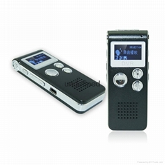 外贸爆款清华紫光录音笔8G微型专业高清远距离