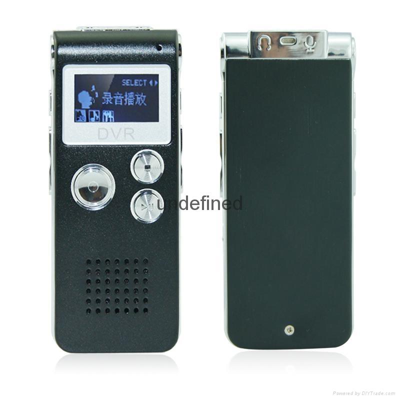 外貿爆款清華紫光錄音筆8G微型專業高清遠距離 2