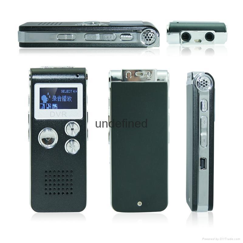 外貿爆款清華紫光錄音筆8G微型專業高清遠距離 3