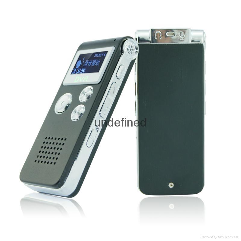 外貿爆款清華紫光錄音筆8G微型專業高清遠距離 4