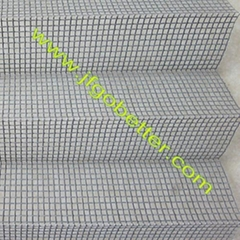 PP PE pleated mosquito screen net