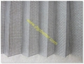 pleated insect screen mesh
