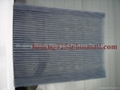 plisse insect screen mesh