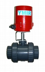电动塑料球阀  upvc电动球阀  电动upvc球阀