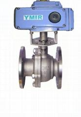 不锈钢电动球阀-304材质-ac220v电压