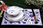 供應山東淄博瓷器,青花瓷餐具