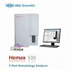 Hematology analyzer (Hemax 530)
