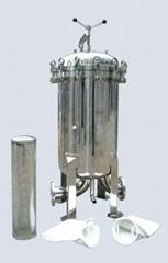 供应水处理不锈钢袋式过滤器