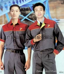 工作服,汕头制服