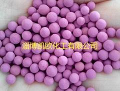 活性高錳酸鉀氧化鋁球