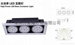 大功率LED豆膽燈,LED燈廠家,LED筒燈,LED天花燈