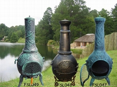 CMC Cast Iron and Cast Aluminium Chiminea