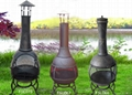 CMC 360 degree chiminea outdoor fireplace