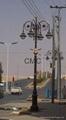 cast iron LED street lighting poles