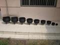set of potjiekos