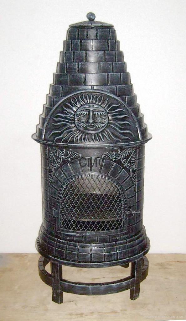 CMC Casita Grill Cast Iron Chiminea - FSL039—FSL039-5 ...