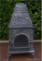 CMC Casita Grill Cast Iron Chiminea