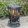 CMC Garden Steel Firepit  and Firebasket