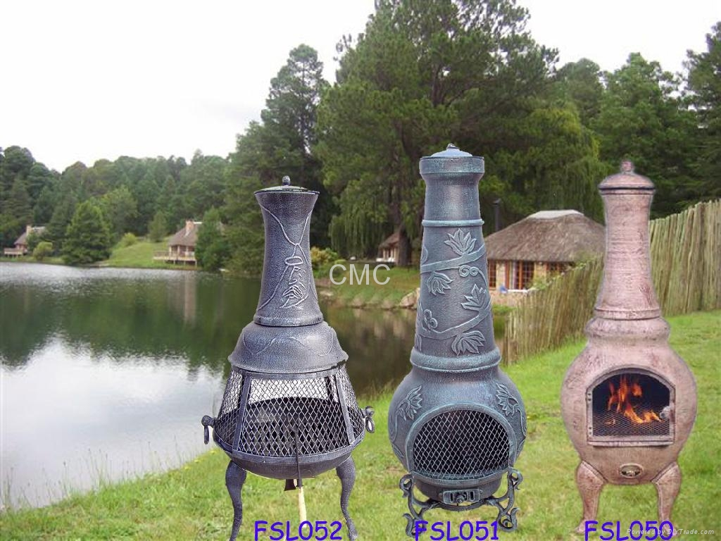 Cmc Cast Iron And Aluminium Chimineas 1