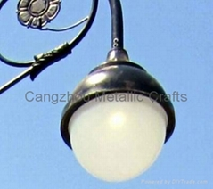 Cast iron LED street lighting