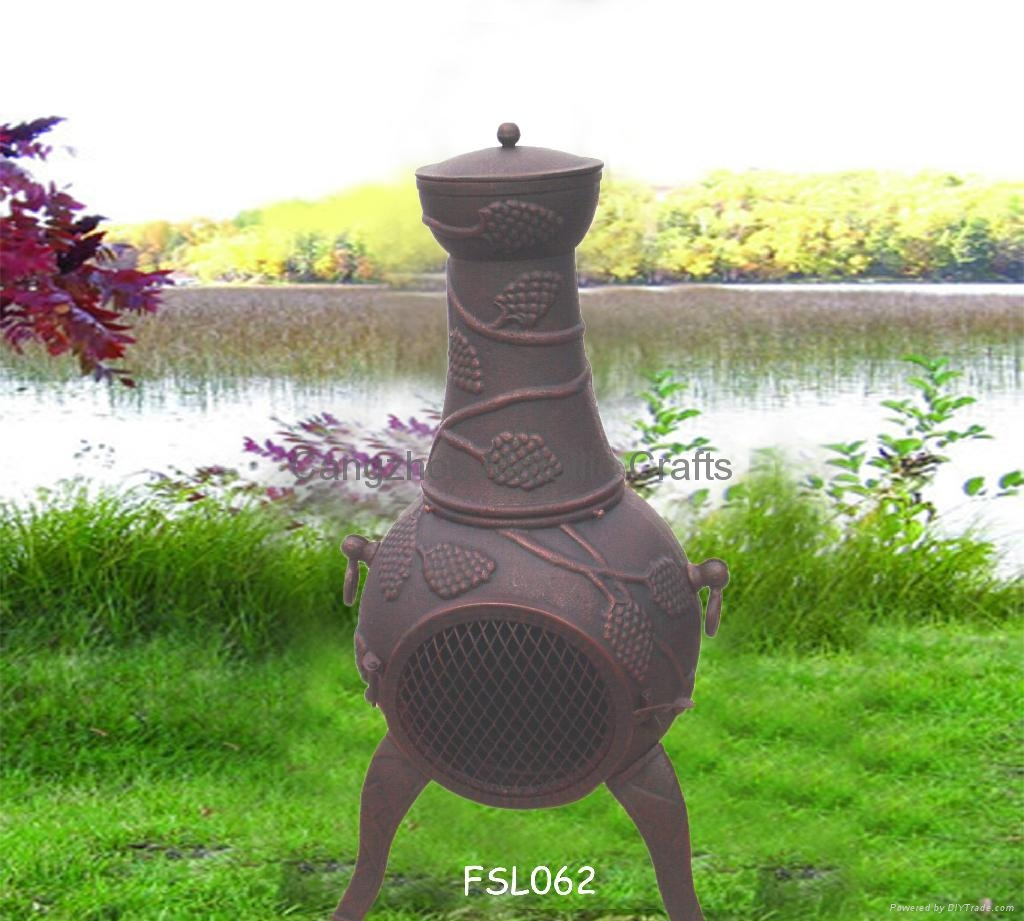 cmc grapevine chimnea ourdoor fireplace china