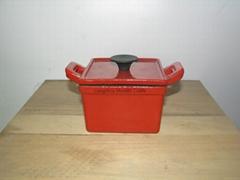 cast iron enamel cookwar