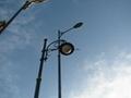 street light head