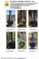 CMC Chiminea Outdoor Fireplace