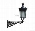 alu lamp and bracket