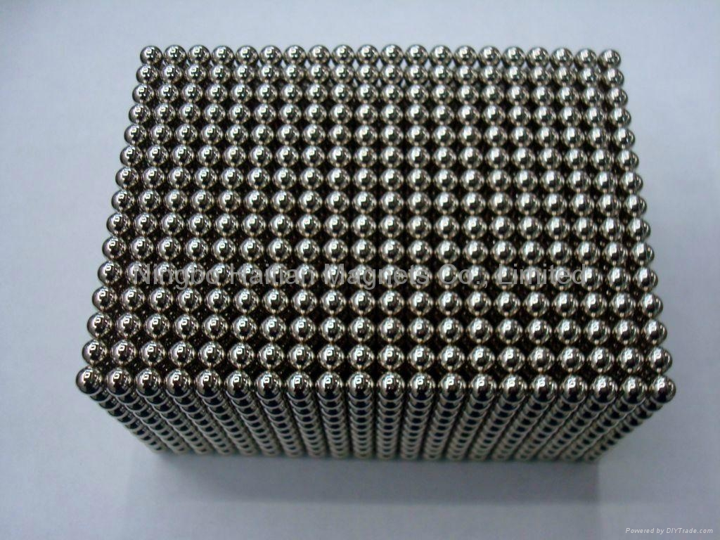 Ndfeb Magnetic sphere of Gold coating and Neocube 3