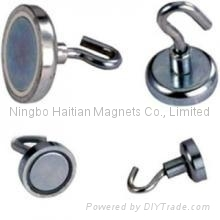 Magnetic pot and magnetic hook