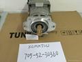WA420-3 hydraulic pump 705-52-30360 vane