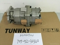 WA420-3 hydraulic pump 705-52-30360 vane pump main pump gear pump 2