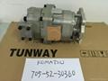 WA420-3 hydraulic pump 705-52-30360 vane pump main pump gear pump 3