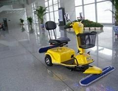 候车大厅保洁电动尘推车