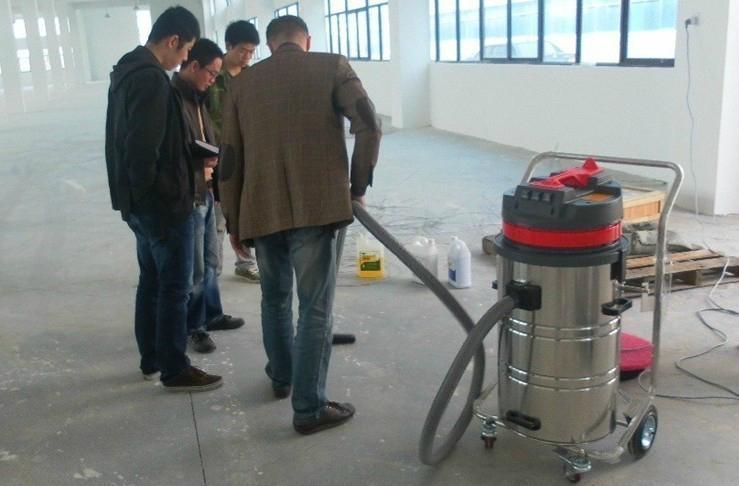 旋風分離式大型工業廠房用上下桶吸塵器 4
